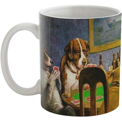 Dogs Playing Poker 1903 C.M.Coolidge Coffee Mug