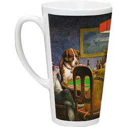 Dogs Playing Poker 1903 C.M.Coolidge Latte Mug