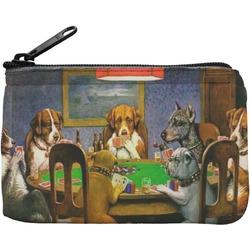Dogs Playing Poker 1903 C.M.Coolidge Rectangular Coin Purse