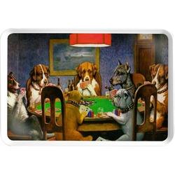 Dogs Playing Poker 1903 C.M.Coolidge Serving Tray