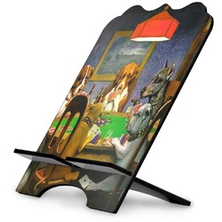 Dogs Playing Poker 1903 C.M.Coolidge Stylized Tablet Stand