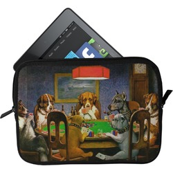 Dogs Playing Poker 1903 C.M.Coolidge Tablet Case / Sleeve