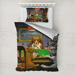 Dogs Playing Poker by C.M.Coolidge Toddler Bedding
