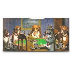 Dogs Playing Poker 1903 C.M.Coolidge Wall Mounted Coat Rack