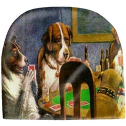 Dogs Playing Poker 1903 C.M.Coolidge Baby Hat (Beanie)
