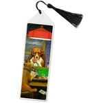 Dogs Playing Poker by C.M.Coolidge Book Mark w/Tassel
