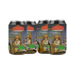 Dogs Playing Poker 1903 C.M.Coolidge Can Sleeve (12 oz)