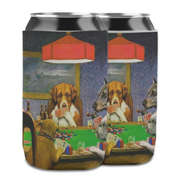 Dogs Playing Poker by C.M.Coolidge Can Cooler (12 oz)