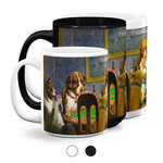 Dogs Playing Poker by C.M.Coolidge Coffee Mugs