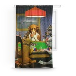 Dogs Playing Poker by C.M.Coolidge Curtain