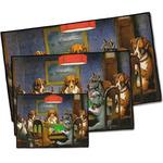 Dogs Playing Poker 1903 C.M.Coolidge Door Mat