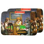 Dogs Playing Poker 1903 C.M.Coolidge Dish Drying Mat
