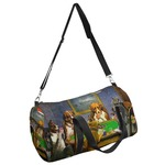 Dogs Playing Poker by C.M.Coolidge Duffel Bag