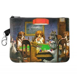 Dogs Playing Poker by C.M.Coolidge Golf Accessories Bag