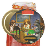Dogs Playing Poker by C.M.Coolidge Jar Opener