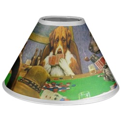 Dogs Playing Poker by C.M.Coolidge Coolie Lamp Shade