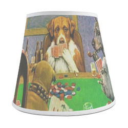 Dogs Playing Poker by C.M.Coolidge Empire Lamp Shade