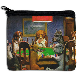 Dogs Playing Poker 1903 C.M.Coolidge Rectangular Coin Purse
