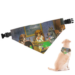 Dogs Playing Poker 1903 C.M.Coolidge Dog Bandana