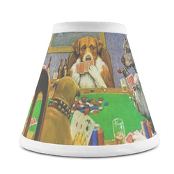 Dogs Playing Poker by C.M.Coolidge Chandelier Lamp Shade