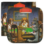 Dogs Playing Poker by C.M.Coolidge Facecloth / Wash Cloth