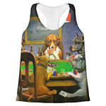 Dogs Playing Poker by C.M.Coolidge Womens Racerback Tank Top