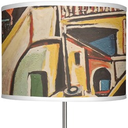 """Mediterranean Landscape by Pablo Picasso 13"""" Drum Lamp Shade Polyester"""
