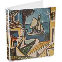 Mediterranean Landscape by Pablo Picasso 3-Ring Binder
