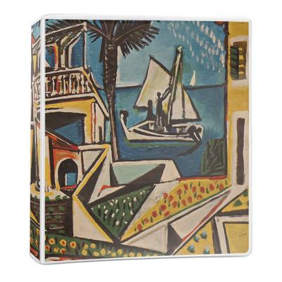 Mediterranean Landscape by Pablo Picasso 3-Ring Binder - 1 inch