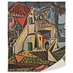 Mediterranean Landscape by Pablo Picasso Sherpa Throw Blanket