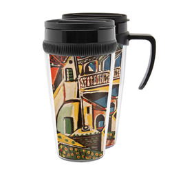 Mediterranean Landscape by Pablo Picasso Acrylic Travel Mugs