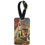 Mediterranean Landscape by Pablo Picasso Metal Luggage Tag