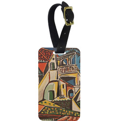 Mediterranean Landscape by Pablo Picasso Aluminum Luggage Tag