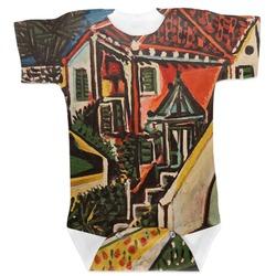 Mediterranean Landscape by Pablo Picasso Baby Bodysuit