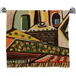 Mediterranean Landscape by Pablo Picasso Bath Towel