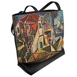 Mediterranean Landscape by Pablo Picasso Beach Tote Bag