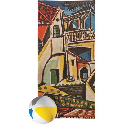 Mediterranean Landscape by Pablo Picasso Beach Towel