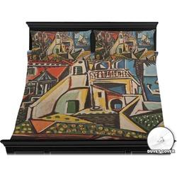 Mediterranean Landscape by Pablo Picasso Duvet Cover Set - King
