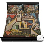 Mediterranean Landscape by Pablo Picasso Duvet Covers