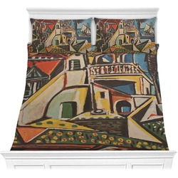 Mediterranean Landscape by Pablo Picasso Comforters