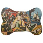 Mediterranean Landscape by Pablo Picasso Bone Shaped Dog Food Mat