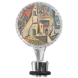 Mediterranean Landscape by Pablo Picasso Wine Bottle Stopper