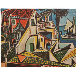 Mediterranean Landscape by Pablo Picasso Woven Fabric Placemat - Twill