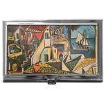 Mediterranean Landscape by Pablo Picasso Business Card Case