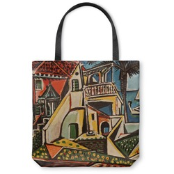 "Mediterranean Landscape by Pablo Picasso Canvas Tote Bag - Small - 13""x13"""