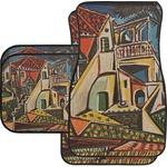 Mediterranean Landscape by Pablo Picasso Car Floor Mats