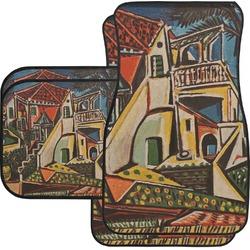 Mediterranean Landscape by Pablo Picasso Car Floor Mats Set - 2 Front & 2 Back