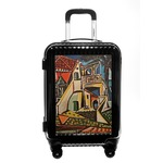 Mediterranean Landscape by Pablo Picasso Carry On Hard Shell Suitcase