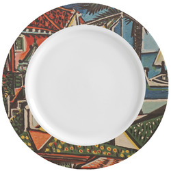 Mediterranean Landscape by Pablo Picasso Ceramic Dinner Plates (Set of 4)