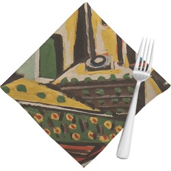 Mediterranean Landscape by Pablo Picasso Cloth Napkins (Set of 4)